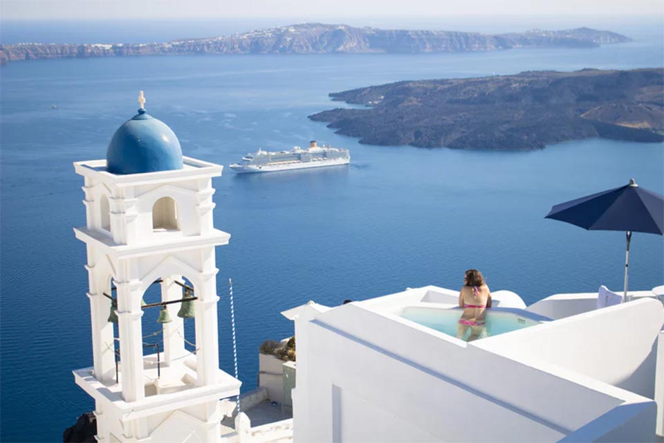 Float to Olympus with these Greek Island Hotels 4