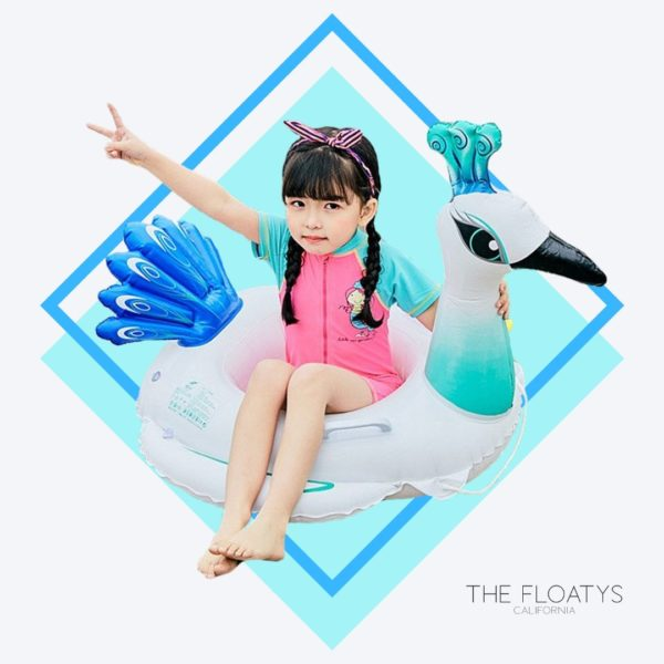 Kids Peacock Float 1