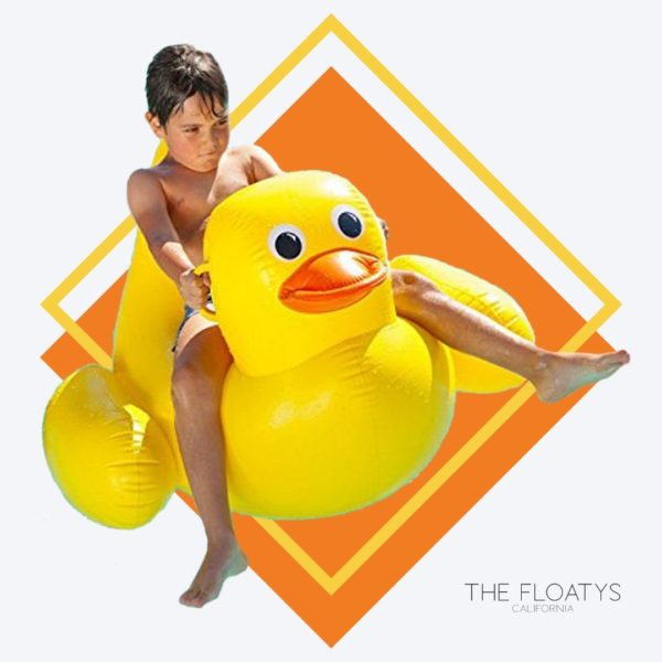 Yellow Duck Float 1